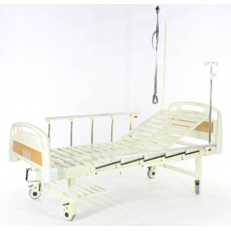 Кровать c механ.приводом Belberg 17B-1Л, 1 функция, пластик (без матраса+столик) в Казани
