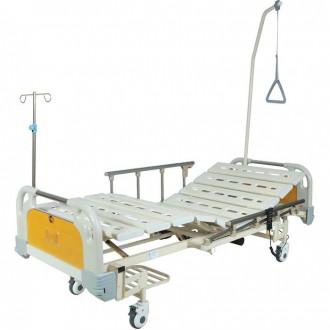 Кровать функциональная с электроприводом Belberg 6-67 (2 функции) с ростоматом, (без матраса) пластик в Казани
