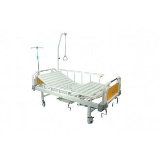 Кровать с механическим приводом Belberg 8-20 (2 функции) пластик с туалетным устройством в Казани