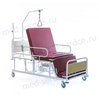 Электрическая медицинская кровать с кардио-креслом Belberg 4-02 с санитарным оснащением в Казани
