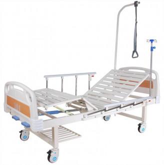 Кровать c механ.приводом Belberg 8-18H, 2 функции пластик (без матраса+столик) в Казани