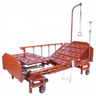 Кровать с электроприводом Belberg 6-066H, 3 функц. с ростоматом ЛДСП (без матраса+столик) в Казани