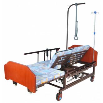 Кровать с электроприводом Belberg 11A-121ПН, 5 функц. туал.устр. ЛДСП (против.матрас) в Казани