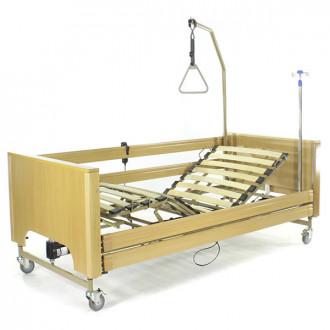 Кровать с электроприводом Belberg 1-194ДЛК, 5 функц. ДЕРЕВО (матрас) в Казани