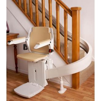 Подъемник кресельный лестничный Acorn 180 - для изогнутых лестниц в Казани