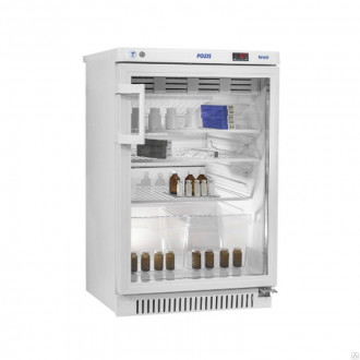 Холодильник фармацевтический малогабаритный ХФ-140-1 со стеклянной дверью (140 л) в Казани