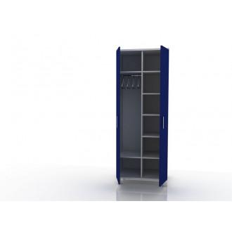 Шкаф для одежды (в комплекте перекладина хром, полки) 105-001-9 в Казани