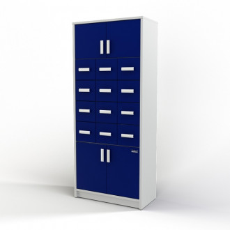Шкаф картотечный (глухие дверцы) 105-004-2 в Казани