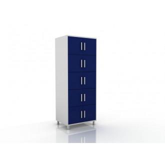 Шкаф медицинский универсальный (для инвентаря и сумок) 105-004-5 в Казани