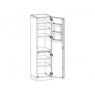 Шкаф медицинский МШ-1-01 без сейфа для медикаментов в Казани