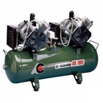 Компрессор стоматологический для 5 установок, без кожуха, с 2-мя 2-х цилиндрованными двигателями в Казани