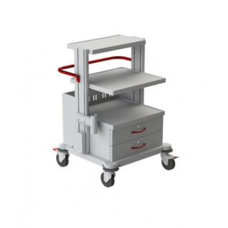 Тележка медицинская функциональная ТМ-9 (для гинекологического кабинета, приборная) в Казани