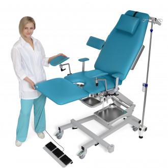 Гинекологическо кресло трехсекционное операционное электромеханическое ZERTS в Казани