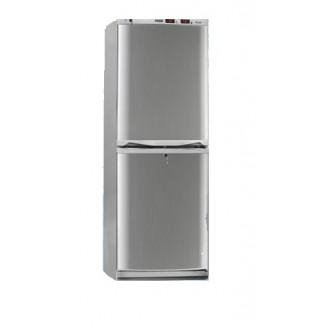 Холодильник фармацевтический двухкамерный ХФД-280 (140/140 л) с дверями из металлопласта серебряного цвета в Казани