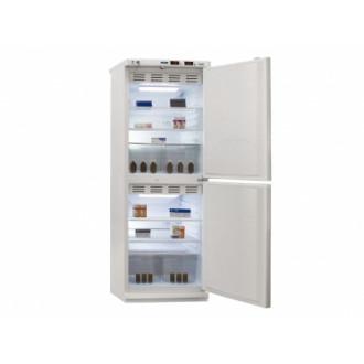Холодильник фармацевтический двухкамерный ХФД-280 (140/140 л) с металлическими дверями в Казани