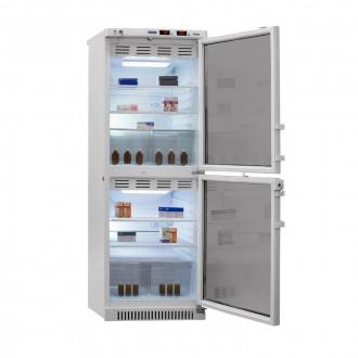 Холодильник фармацевтический двухкамерный ХФД-280(ТС) (140/140 л) с тонированными стеклянными дверями в Казани