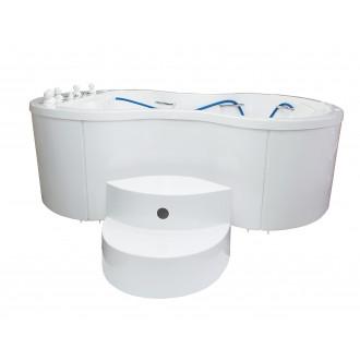 Ванна водолечебная Хаббарда для подводного душ-массажа в Казани