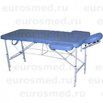 Массажный стол MedMebel №2 с валиком и подлокотниками в Казани