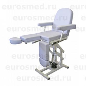 Педикюрное кресло MedMebel №3м с четырьмя электроприводами в Казани