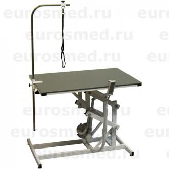 Стол ветеринарный универсальный для груминга СВУ с электроприводом и полимерным покрытием в Казани