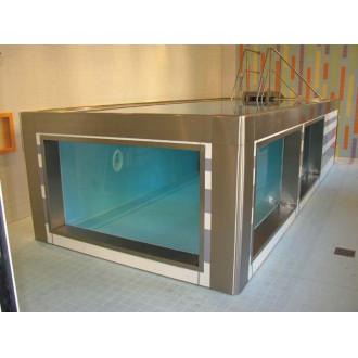 Модульный бассейн из нержавеющей стали для реабилитации в воде в Казани