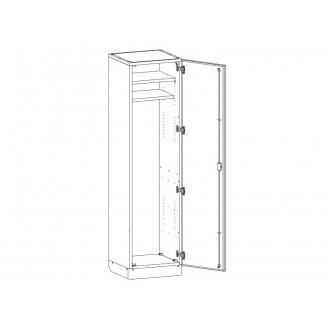 Шкаф медицинский МШ-1-06 для хранения инструментария в Казани