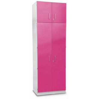Шкаф медицинский высокий для хранения медикаментов (с полками и антресольным шкафом) в Казани