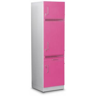 Шкаф медицинский  высокий для хранения медикаментов (для установки встроенного холодильника) в Казани