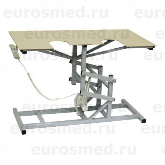 Стол ветеринарный универсальный СВУ-19 э/привод для УЗИ и эхо процедур в Казани