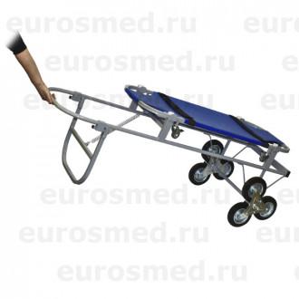 Тележка ветеринарная с носилками ПВХ, со строенными колесами СВУ-20.12 в Казани