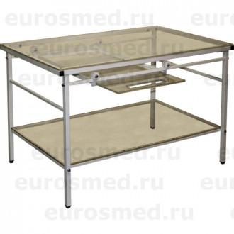 Стол ветеринарный СВУ-23 для рентгена с выдвижной полкой в Казани