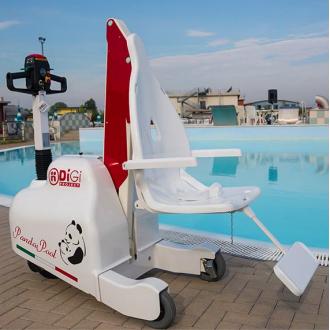 Подьёмник для бассейна и набережной DiGi PandaPool  в Казани