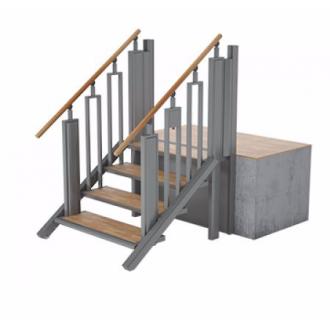 Лестница-трансформер FlexStep V2 / 4 ступеньки / высота подъёма до 925 мм в Казани